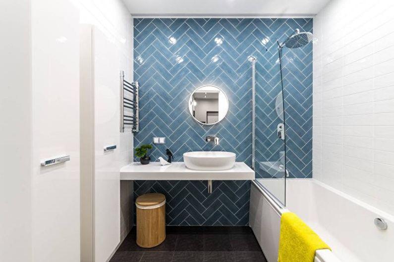Design de salle de bain 2021: idées modernes (85 photos)