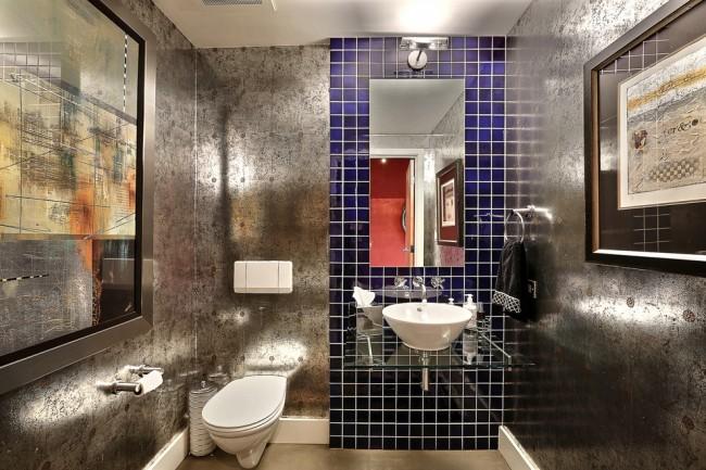 Une toilette moderne doit être fonctionnelle, confortable et, bien sûr, dotée de matériaux résistants à l'humidité.