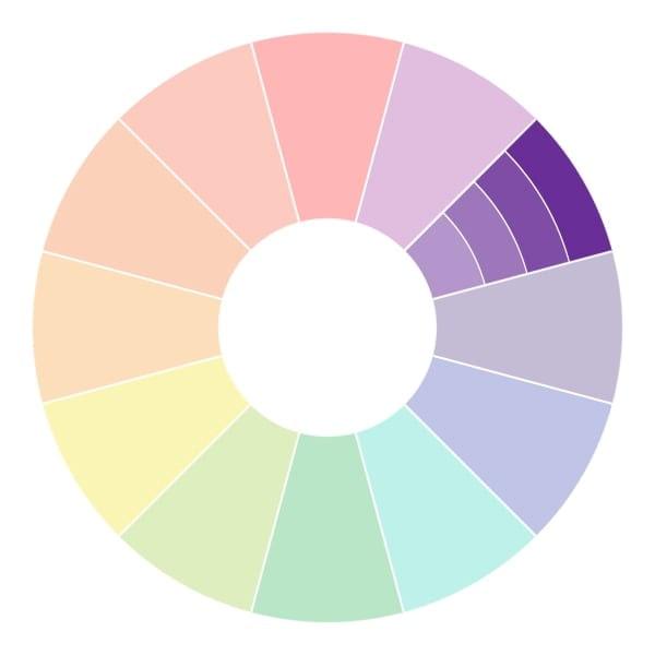 combinaison de couleurs monochromes