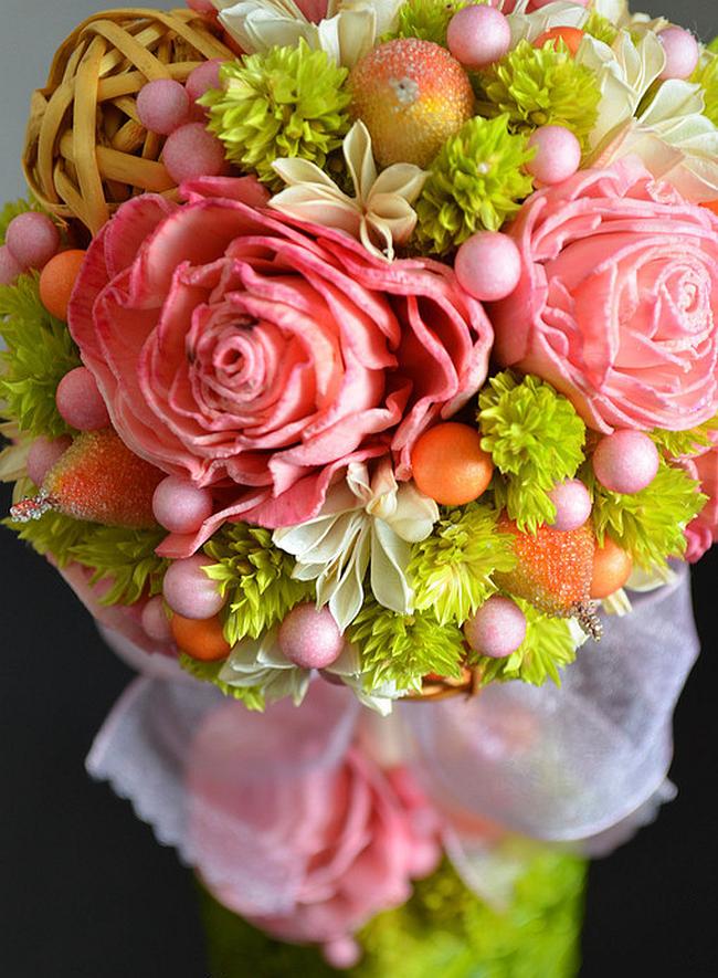 Comment créer un topiaire domestique.  Ambiance estivale avec floral fruité