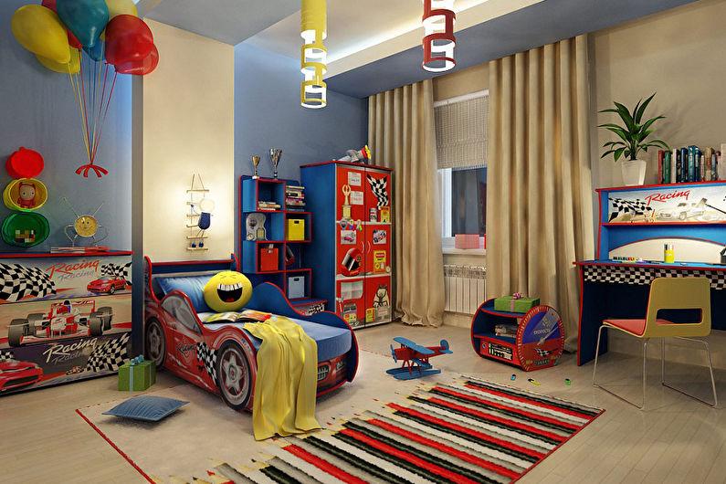 Conception d'une chambre d'enfants pour un garçon (75+ photos)