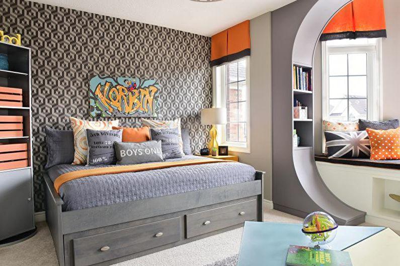 Conception d'une chambre pour un adolescent (60 photos)