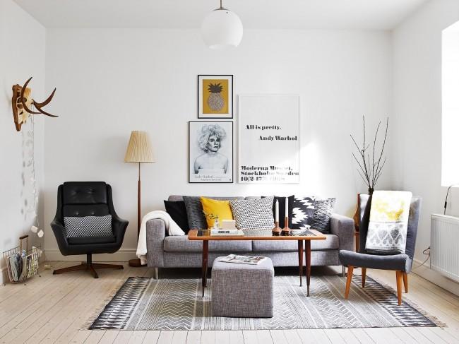 La décoration de la salle est très importante pour l'intérieur dans son ensemble, car il s'agit de la pièce centrale de la maison.