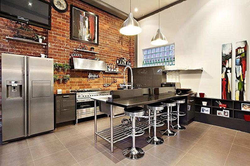 Cuisine avec comptoir de bar (70 photos): idées de design