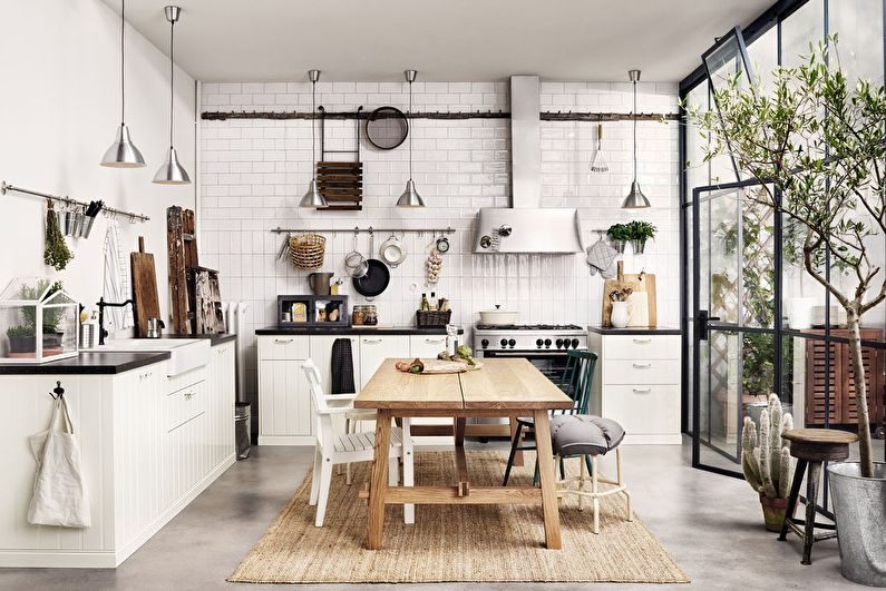 Cuisines Ikea à l'intérieur (80 photos)
