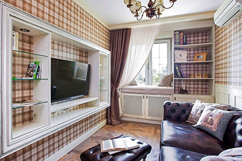 Design d'intérieur de salon (75+ photos)