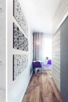 Design moderne du couloir à