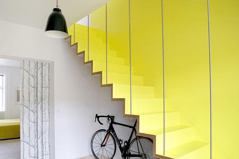 Escalier au deuxième étage: 70 photos et idées