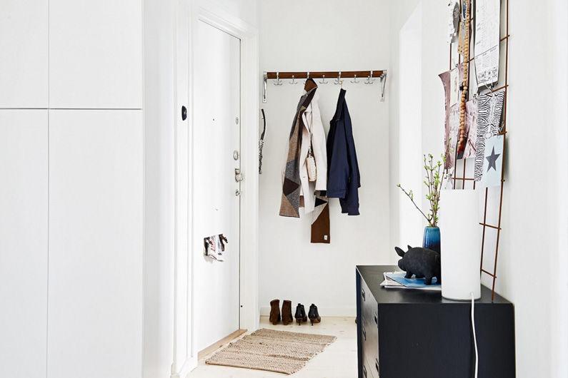 Idées de design pour un petit couloir (+65 photos)