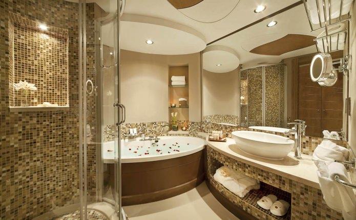 Design de salle de bain moderne
