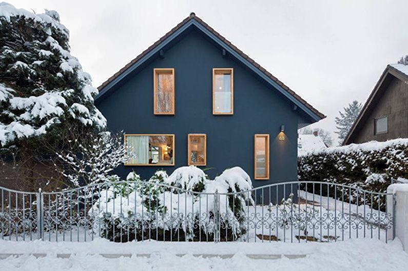 Maison de campagne dans le style scandinave (+75 photos)