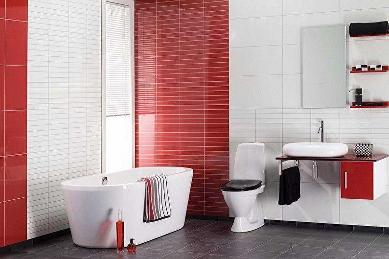 Panneaux en plastique pour la salle de bain (85 photos)