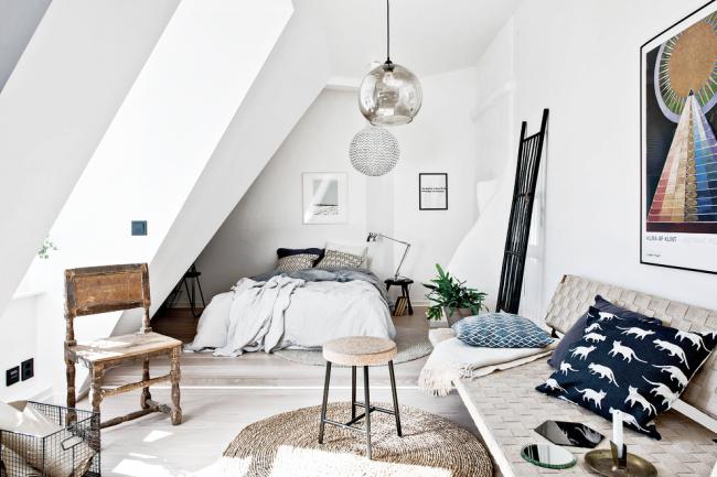 Le blanc est la pierre angulaire du design d'intérieur scandinave