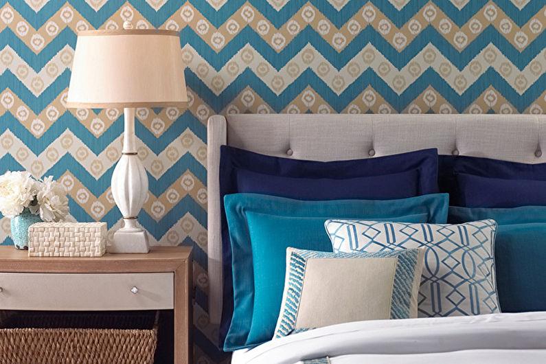 Papier peint pour la chambre: 65 belles idées