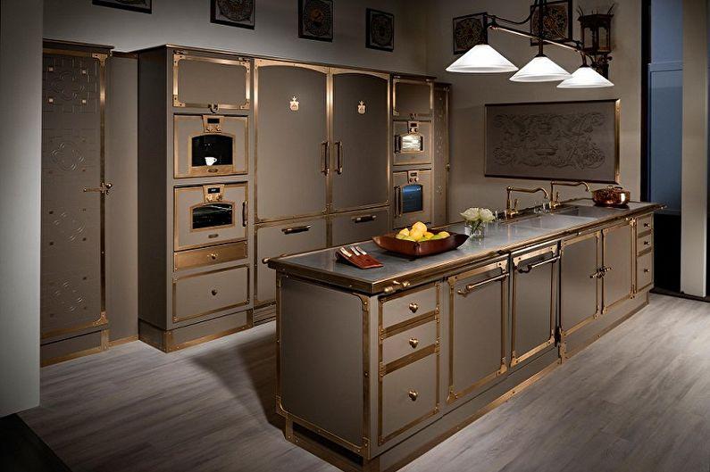 Poignées pour meubles de cuisine (80 photos): types, lesquels acheter
