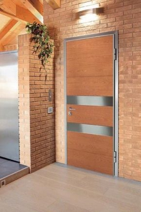 Portes métalliques d'entrée de l'appartement