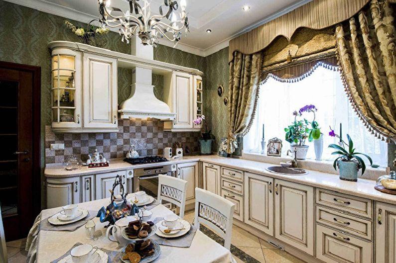 Rideaux de cuisine: 100 idées de photos