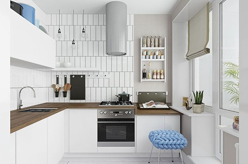 Rideaux pour la cuisine: 70 idées de photos