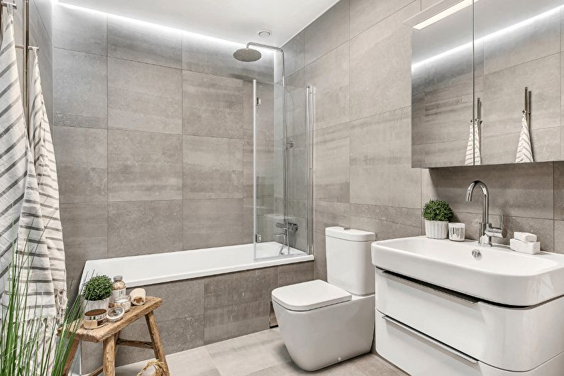 Salle de bain dans un style moderne (+72 photos)