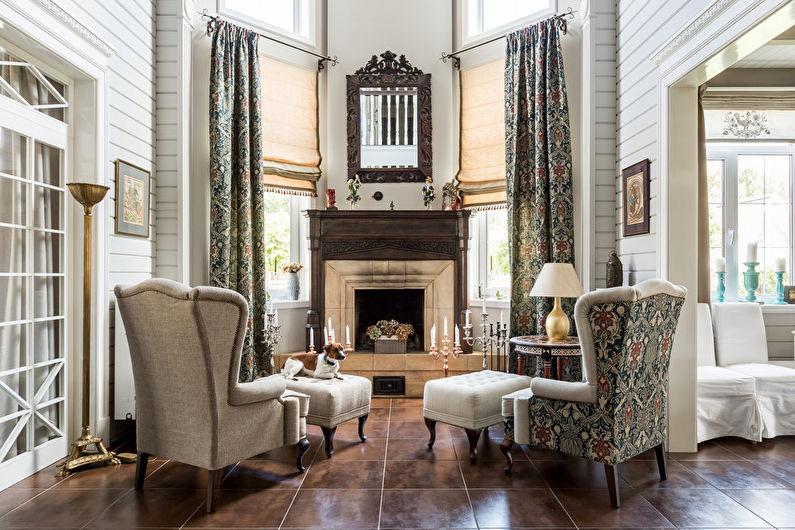 Style néoclassique à l'intérieur (100 photos)