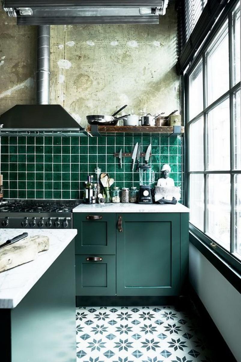 Style rustique dans la cuisine