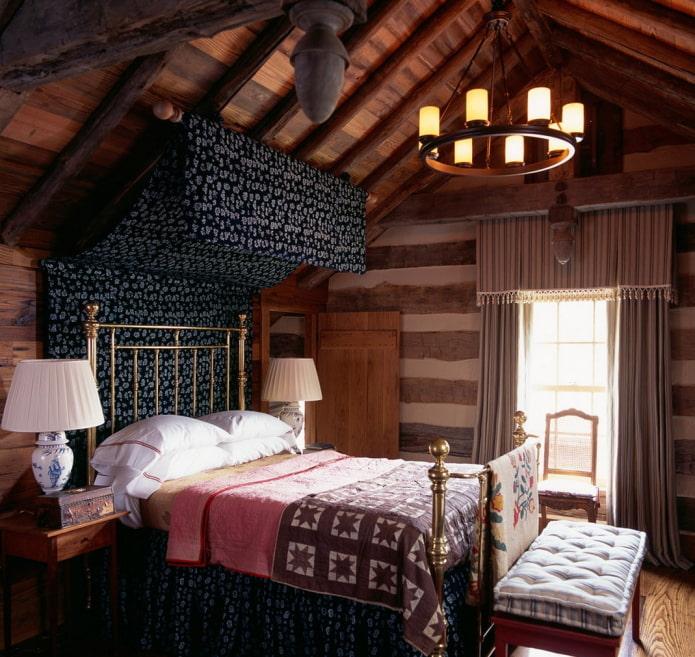 textiles dans la chambre