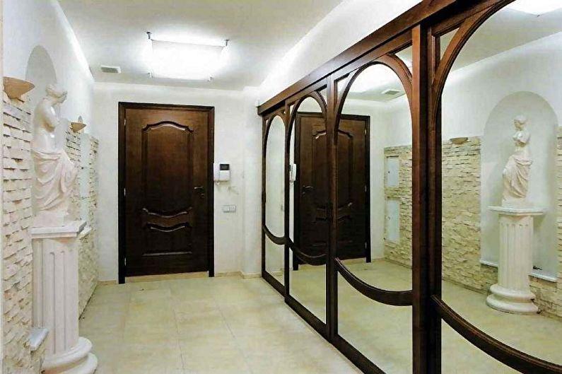 Conception de couloir dans l'appartement - Règles générales de conception
