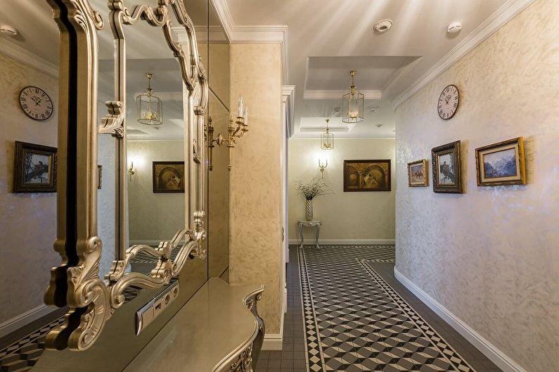 Couloir classique - Design d'intérieur