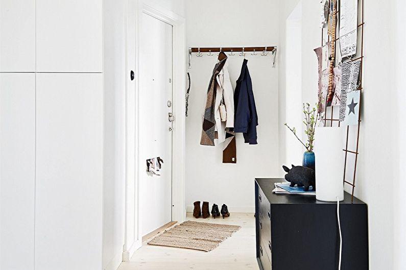 Couloir de style scandinave - Design d'intérieur