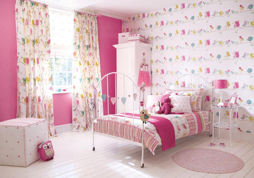 Photo 2 - Le rose est la couleur la plus souvent utilisée dans la chambre des enfants pour une fille