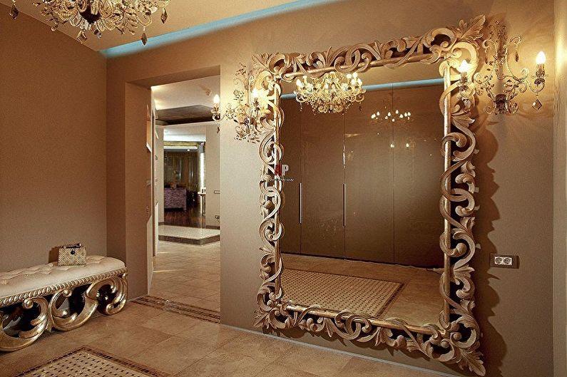 Miroir de couloir - Caractéristiques et fonctions