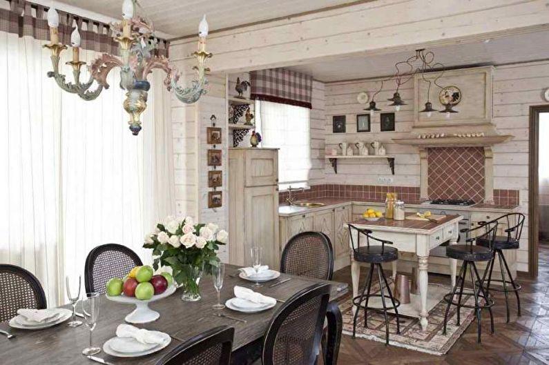 Gîte ou maison de campagne de style provençal - Design d'intérieur