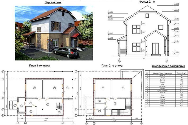 Idées pour l'aménagement d'une maison à deux étages
