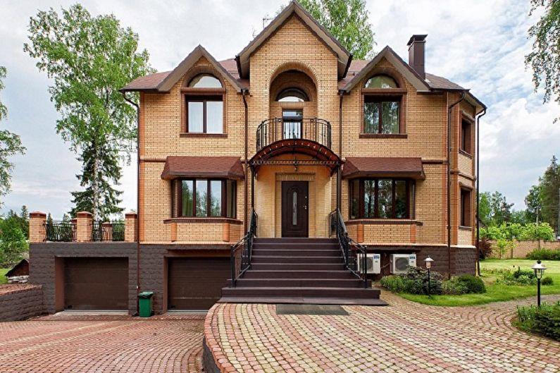 Maisons à deux étages - Matériaux de construction