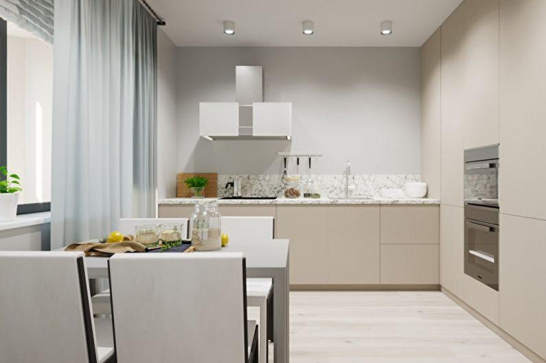 Conception d'appartement dans le style du minimalisme - Caractéristiques