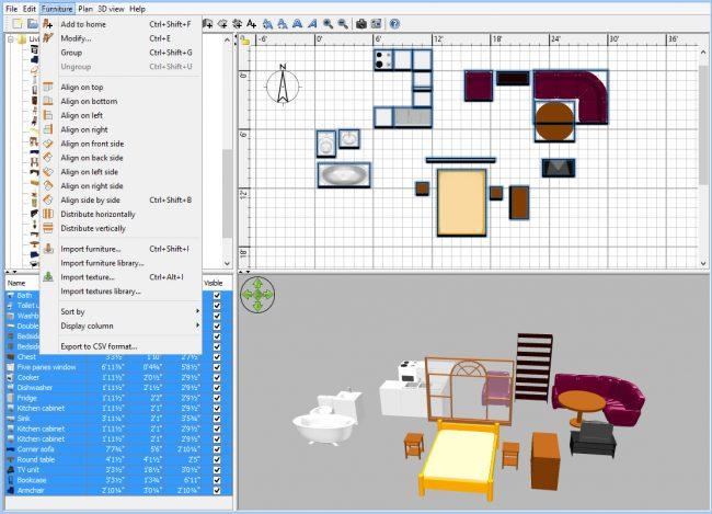 ETeks Sweet Home 3D vous facilite la tâche