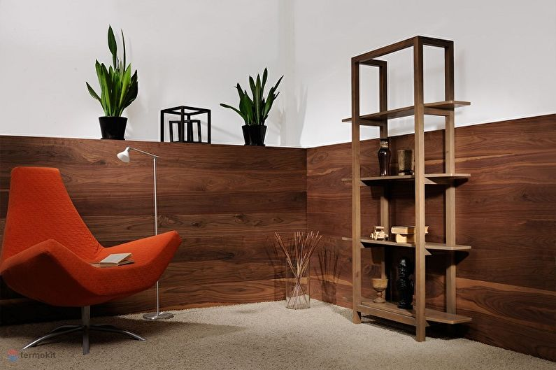 Types de panneaux muraux pour la décoration intérieure - Panneaux muraux en bois massif