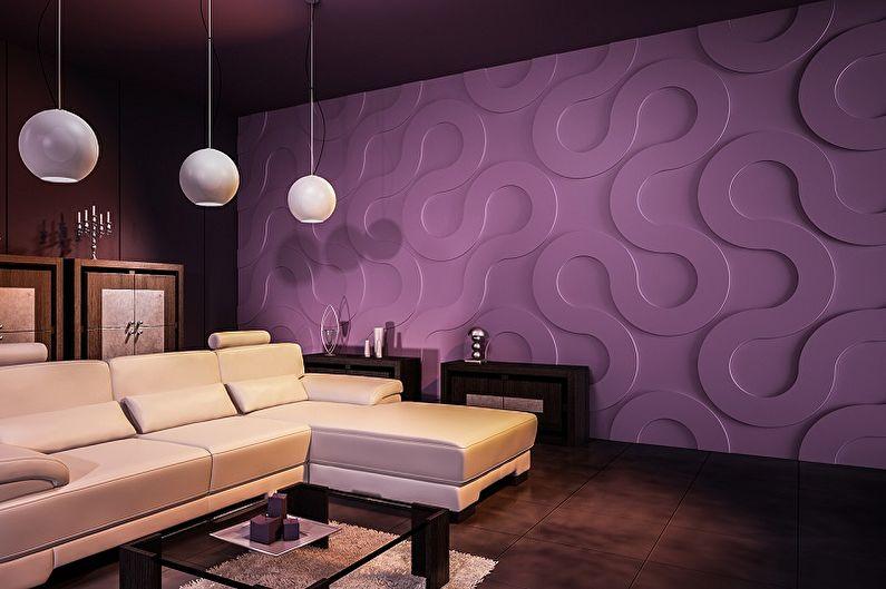 Panneaux muraux pour la décoration intérieure - Qu'est-ce que c'est