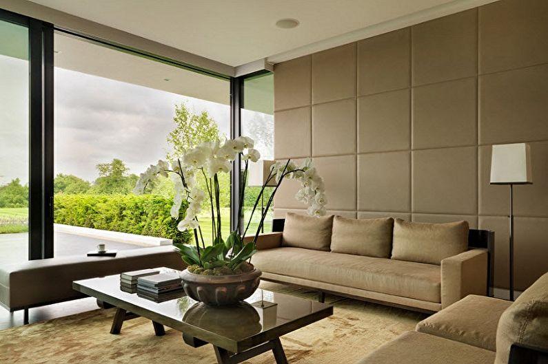 Types de panneaux muraux pour la décoration intérieure - Panneaux souples