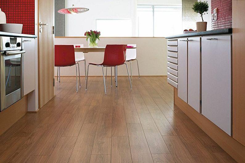 Conception de cuisine 3 par 4 mètres - Fini de plancher