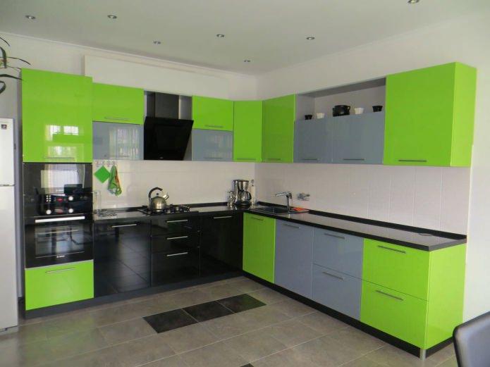 Façades de meubles de cuisine en stratifié