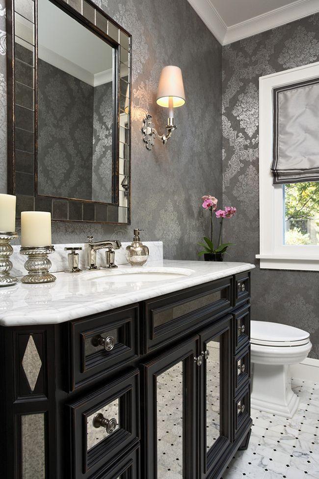 Les couleurs telles que le gris, le noir et le blanc sont très pratiques lorsqu'elles sont utilisées dans la décoration d'intérieur - elles sont incroyablement harmonieuses les unes avec les autres.