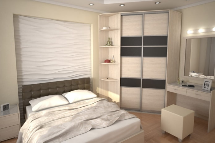 armoire à l'intérieur de la chambre