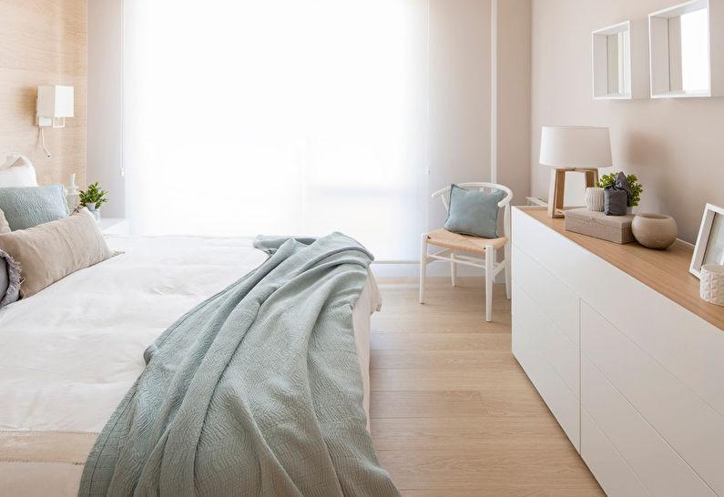 Chambre Scandinave Beige - Décoration d'intérieur