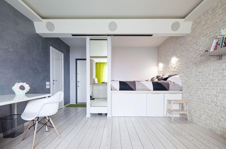 Design de chambre de style scandinave - Décorations murales