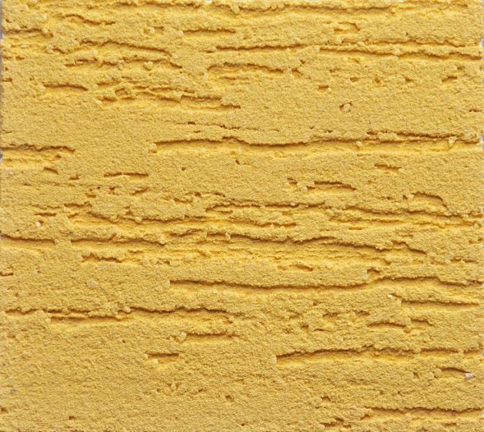 plâtre jaune