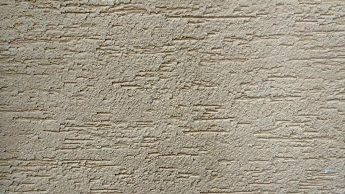 plâtre décoratif gris