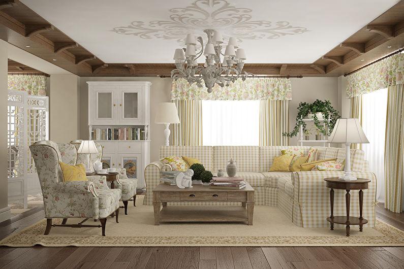 La Provence à l'intérieur - Décoration plafond