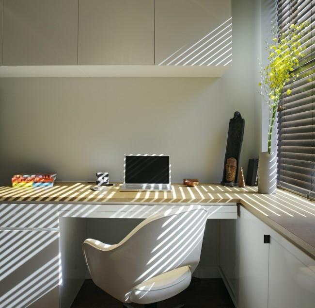 Conception de lieu de travail minimaliste