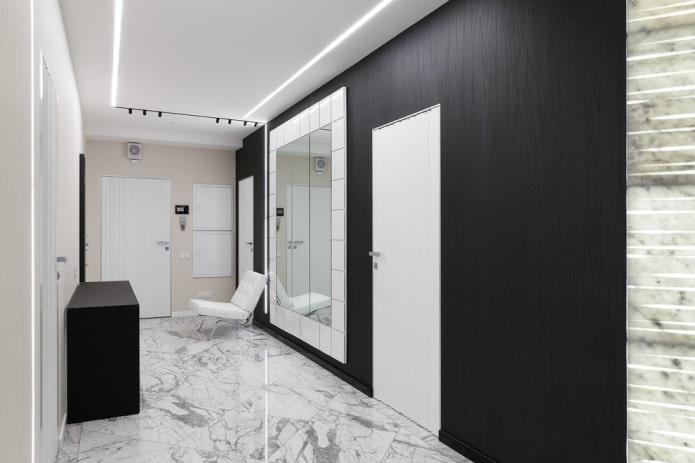 conception de couloir de haute technologie